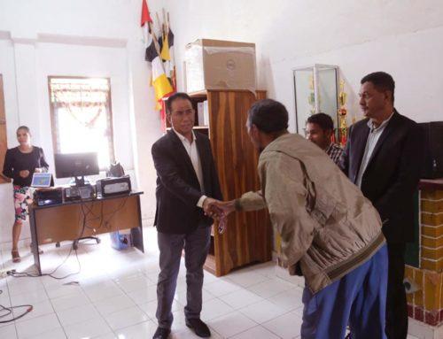 Vice- Ministro do MAE, Abílio José Caetano, visitou o edifício da Administração local de Maubisse