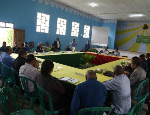 Ministério da Administração Estatal, convocou uma reunião com 4 Presidentes das Autoridades Municipais e 8 Administradores Municipais em Ermera.