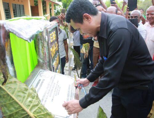Inauguração da Escola Básica Filial Tiha Aitahan