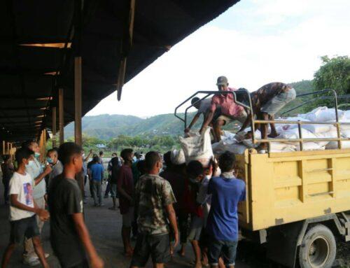 Visita às comunidades afectadas de São Paulo e Tasi Tolu
