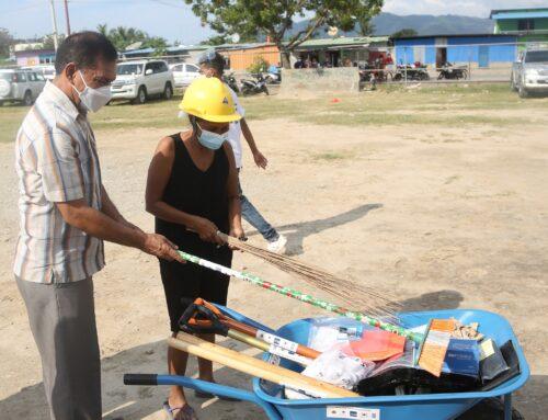 Apoio à recuperação de infra-estruturas básicas em Aitarak-Laran