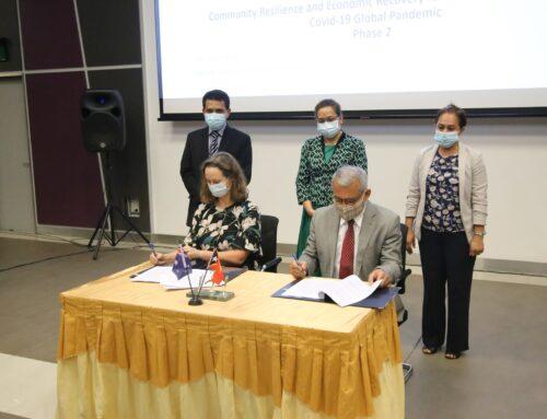 Assinatura de acordo entre o Governo de Timor-Leste e Governo da Austrália
